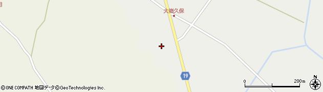 宮城県大崎市田尻大嶺(山崎)周辺の地図