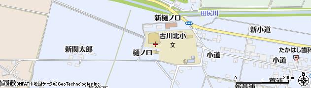 宮城県大崎市古川荒谷(樋ノ口)周辺の地図