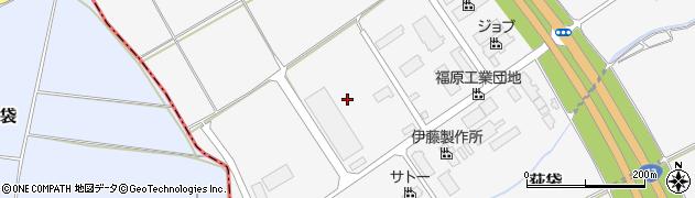 山形県尾花沢市荻袋堂ヶ塚周辺の地図