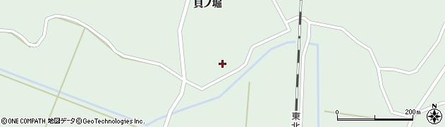 宮城県大崎市田尻沼部(流堀)周辺の地図