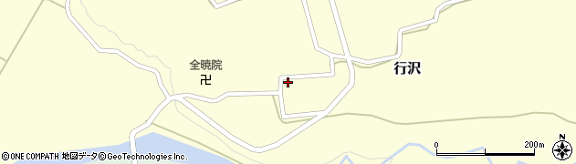 山形県尾花沢市行沢334周辺の地図