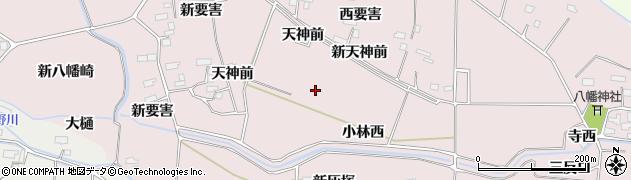 宮城県大崎市古川小林(新天神前)周辺の地図