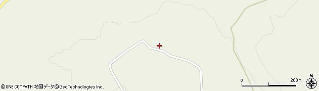 山形県最上郡大蔵村南山693周辺の地図