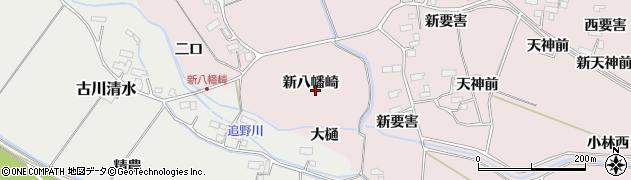 宮城県大崎市古川小林(新八幡崎)周辺の地図