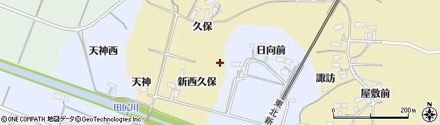 宮城県大崎市田尻諏訪峠周辺の地図
