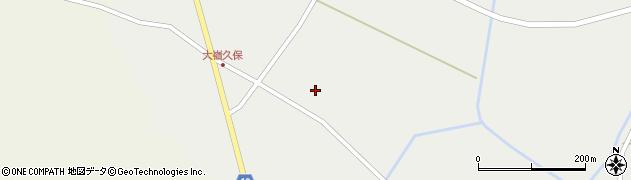 宮城県大崎市田尻大嶺(清水)周辺の地図
