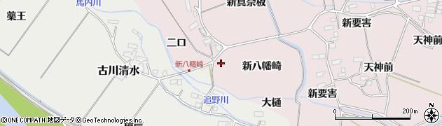 宮城県大崎市古川小林(八幡崎)周辺の地図