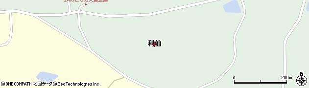 宮城県大崎市田尻蕪栗(利仙)周辺の地図
