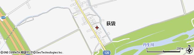 山形県尾花沢市荻袋723周辺の地図