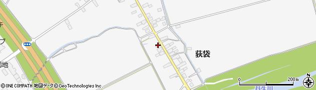 山形県尾花沢市荻袋709周辺の地図
