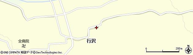 山形県尾花沢市行沢932周辺の地図
