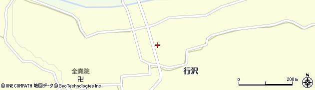 山形県尾花沢市行沢393周辺の地図