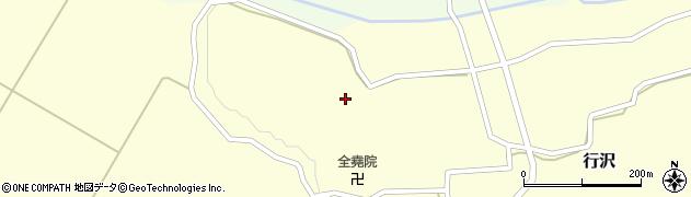 山形県尾花沢市中島261周辺の地図
