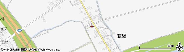 山形県尾花沢市荻袋707周辺の地図