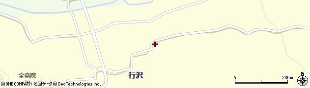山形県尾花沢市行沢416周辺の地図