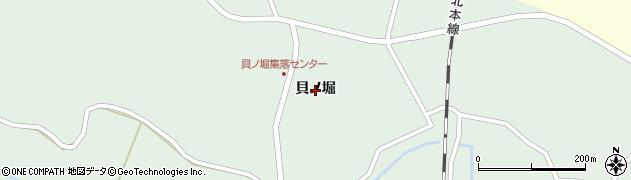 宮城県大崎市田尻沼部(貝ノ堀)周辺の地図