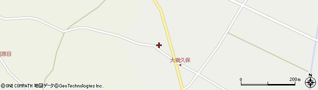 宮城県大崎市田尻大嶺(日足)周辺の地図