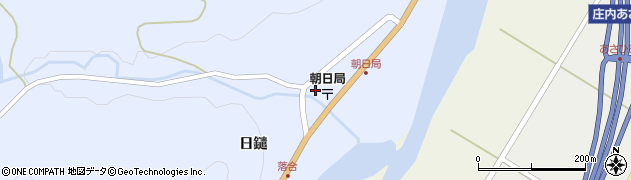 山形県鶴岡市熊出(日鑓)周辺の地図