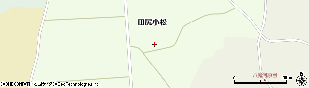 宮城県大崎市田尻小松周辺の地図