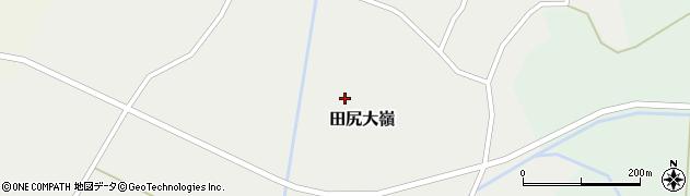 宮城県大崎市田尻大嶺(東沼)周辺の地図