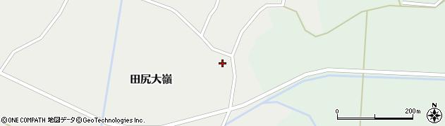 宮城県大崎市田尻大嶺(北山)周辺の地図