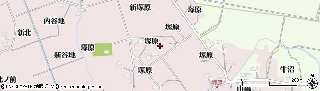 宮城県大崎市古川小林(塚原)周辺の地図