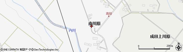 宮城県大崎市岩出山下野目(南川原)周辺の地図