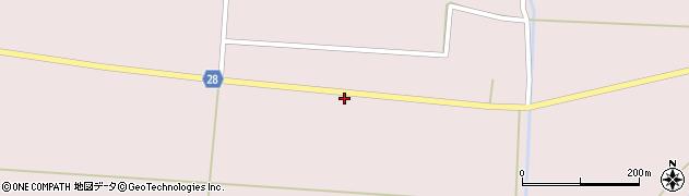 山形県尾花沢市正厳661周辺の地図