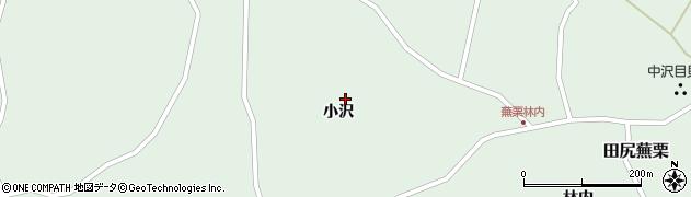 宮城県大崎市田尻蕪栗(小沢)周辺の地図