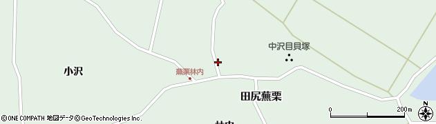 宮城県大崎市田尻蕪栗(熊野堂)周辺の地図