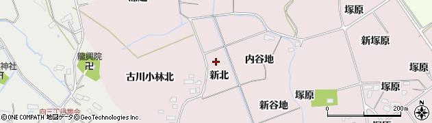 宮城県大崎市古川小林(新北)周辺の地図
