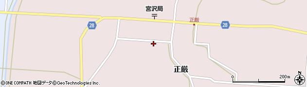 山形県尾花沢市正厳475周辺の地図