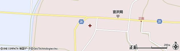 山形県尾花沢市正厳456周辺の地図