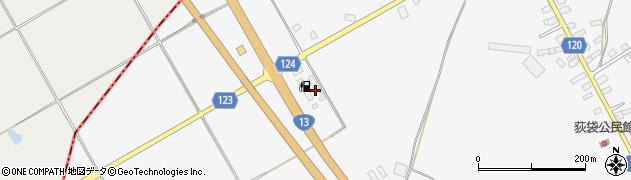 山形県尾花沢市荻袋荻原1327周辺の地図