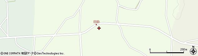 宮城県大崎市田尻小松(金山前)周辺の地図