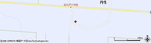山形県尾花沢市丹生588周辺の地図