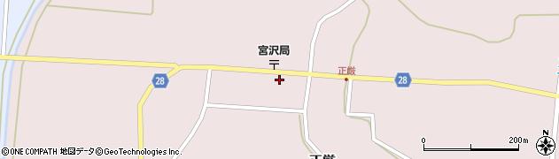 山形県尾花沢市正厳441周辺の地図