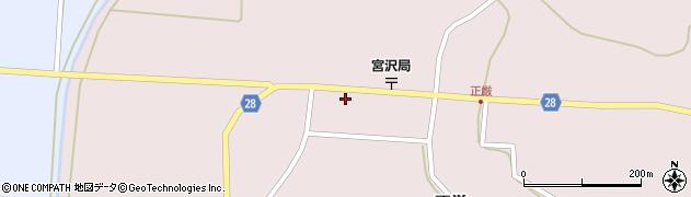 山形県尾花沢市正厳438周辺の地図