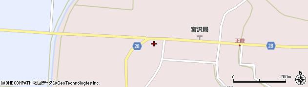 山形県尾花沢市正厳433周辺の地図