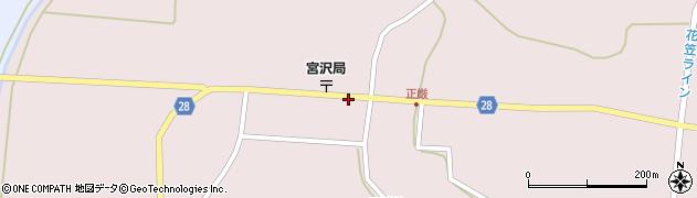 山形県尾花沢市正厳442周辺の地図