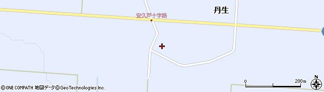 山形県尾花沢市丹生586周辺の地図