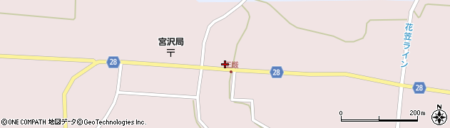 山形県尾花沢市正厳539周辺の地図