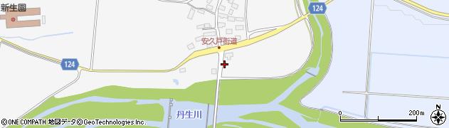山形県尾花沢市荻袋235周辺の地図