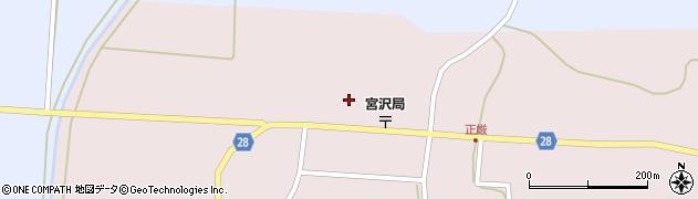 山形県尾花沢市正厳558周辺の地図