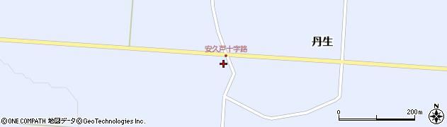 山形県尾花沢市丹生582周辺の地図