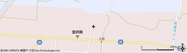 山形県尾花沢市正厳537周辺の地図