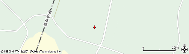 宮城県大崎市田尻沼部(若林)周辺の地図