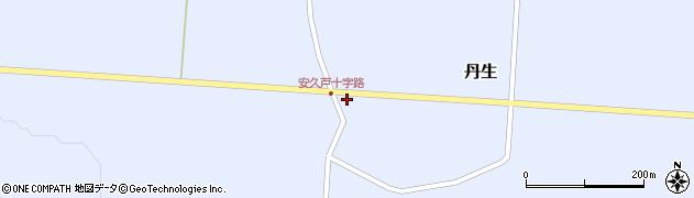 山形県尾花沢市丹生553周辺の地図