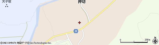 山形県尾花沢市押切215周辺の地図
