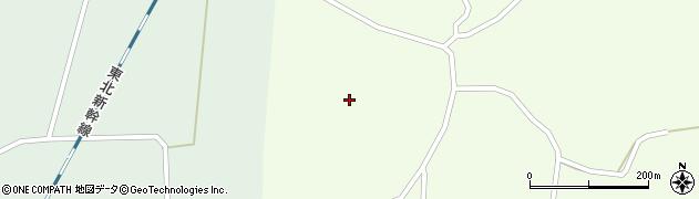 宮城県大崎市田尻小松(新沼)周辺の地図